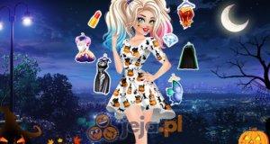 Halloweenowa modelka