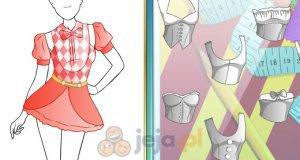 Projektowanie - Dziewczyna z cyrku