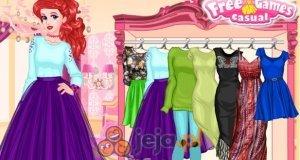 Księżniczki i szkolny pokaz mody