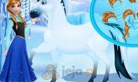 Anna opiekuje się koniem