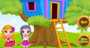 Domek na drzewie Małej Barbie
