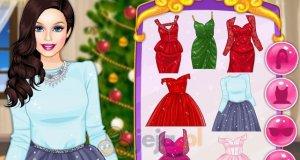 Świąteczna stylizacja Barbie