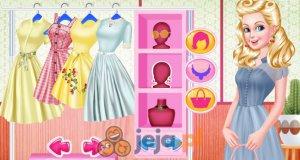 Barbie i retro party