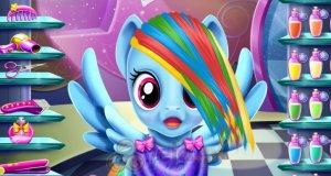 Nowa fryzura Rainbow Dash