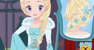 Ślubna fryzura Elsy
