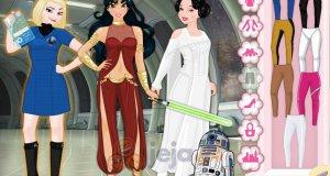 Kosmiczne księżniczki Disneya