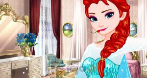 Ognisty makijaż Elsy