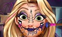 Emo makijaż Roszpunki