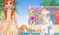 Elsa i Anna: Na plaży vs w szkole