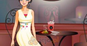 Paulina w kawiarence