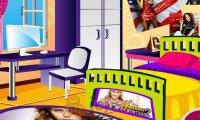 Pokój fanki Miley Cyrus