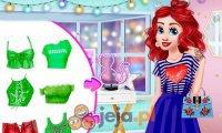 Księżniczki i neonowe ubrania