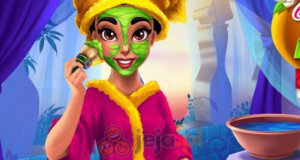 Prawdziwy makijaż Jasminy