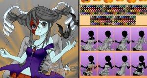 Magiczna dziewczyna i Halloween