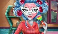 Prawdziwy makijaż Ghoulii
