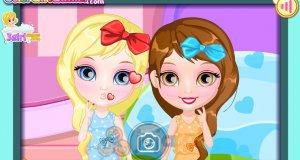 Baby Barbie i wspólne nocowanie