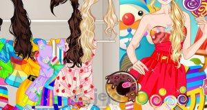Barbie w świecie słodkości