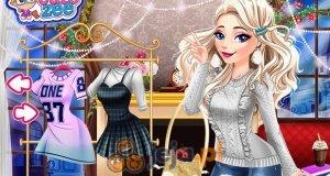 Elsa i wełniane swetry