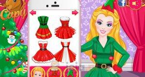 Barbie i elfie selfie
