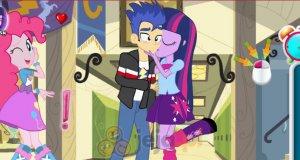 Słodki pocałunek w Equestrii