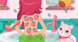 Strawberry Shortcake w spa