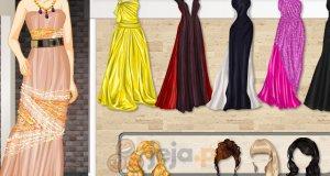 Suknie z paskiem