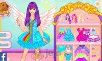 Barbie i błyszczące kostiumy z My Little Pony