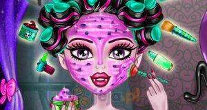Prawdziwy makijaż Monster High