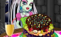 Monster High - Owocowy tort