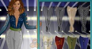 Beyonce w studiu mody