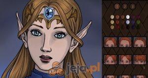 Kreator postaci: Portret elfa
