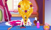 Baby Barbie i salon fryzjerskim Disneya
