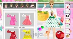 Barbie jako nowoczesna Calineczka