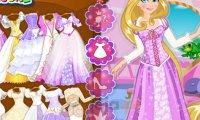 Suknia ślubna Roszpunki