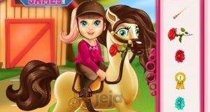 Baby Barbie w stajni