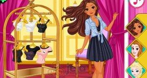 Księżniczki w centrum handlowym