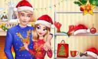 Święta z Elsą i Jackiem