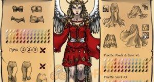Kreator postaci: Epicki anioł