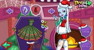 Świąteczne przyjęcie Monster High