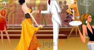 Para na przyjęciu