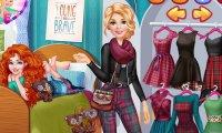 Barbie odwiedza Meridę