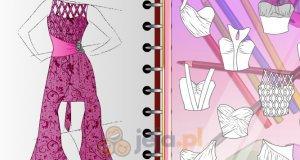 Projektowanie - Suknia wieczorowa