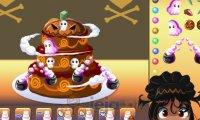 Halloweenowy tort