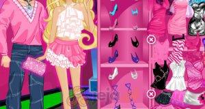 Barbie i Ken na imprezie