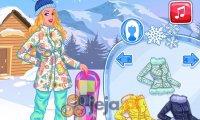 Księżniczki i sporty zimowe