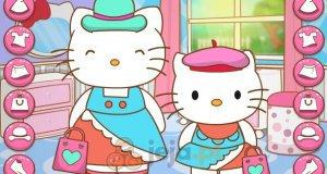 Hello Kitty i identyczne sukienki