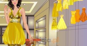 Żółte suknie