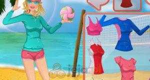 Barbie na plaży