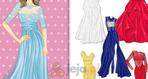 Długie, koronkowe suknie