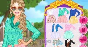 Jesienne spódniczki Barbie